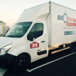 camion de transport messagerie Allo chrono courses