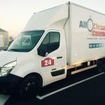 camion de transport messagerie Allo chrono courses